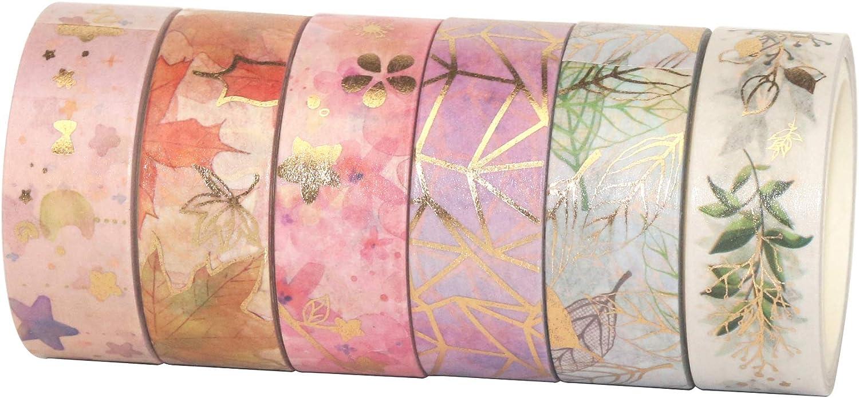 Retro Rose Flower Piegon Washi Tape Scrapbooking Tape 40mm wide x 5 Meters No.12571