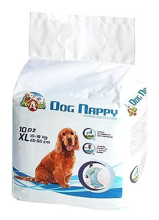 Croci Pañales para perro Dog Nappy, paquete de 10 unidades