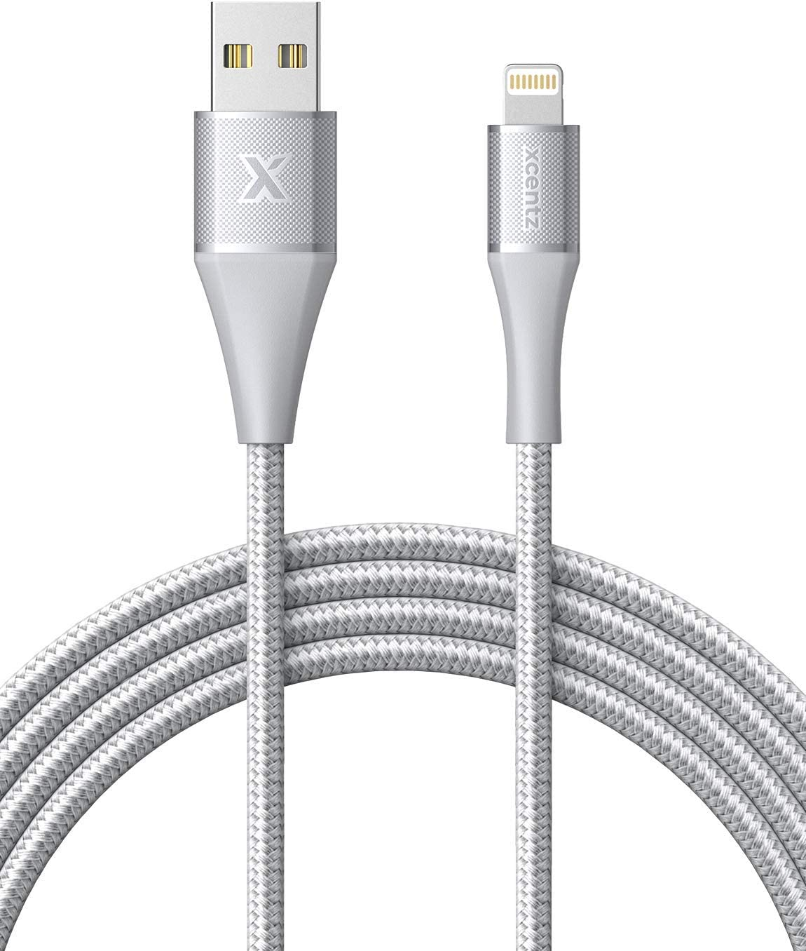 Xcentz iPhone Charger 6ft, Apple MFi