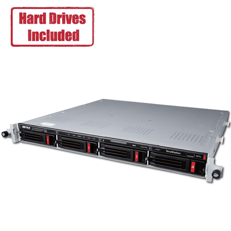 BUFFALO TeraStation 5410RN Rackmount 16 TB NAS Hard Drives Included by BUFFALO