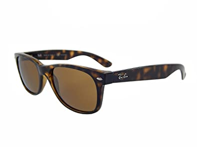 d1f4a64ba87 Image Unavailable. Image not available for. Color  Ray Ban Wayfarer RB2132  902 57 Tortoise Crystal Brown Polarized 55mm Sunglasses