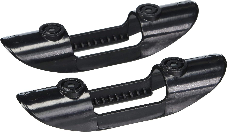 2Pcs Kayak Marine Paddle Clips Holder Plastic Boat Watercraft Accessories Black
