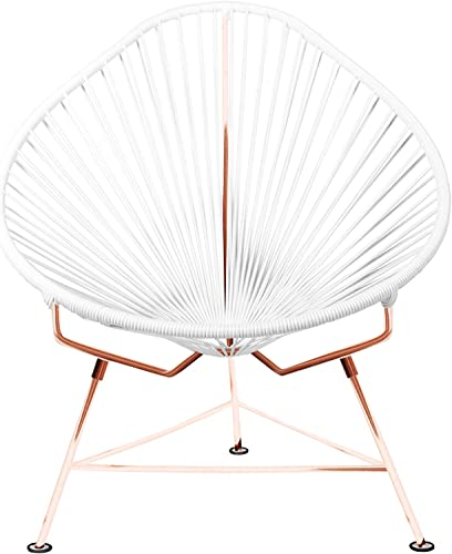 Innit Acapulco Chair White Weave on Copper Frame