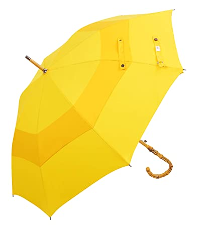353c32f24a0fd (Designed in Britain) Balios® Walking Stick Umbrella Handmade Bamboo  Whangee Double Canopy Windproof