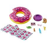 Barbie Outdoor Furniture Set with Donut Floatie...