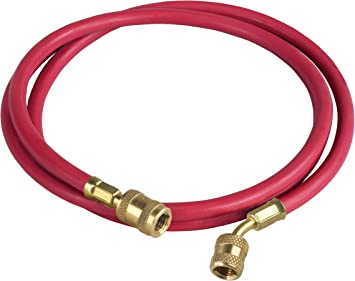 Robinair 68420 Enviro-Guard Red and Blue 20 Hose Set with Standard Fitting