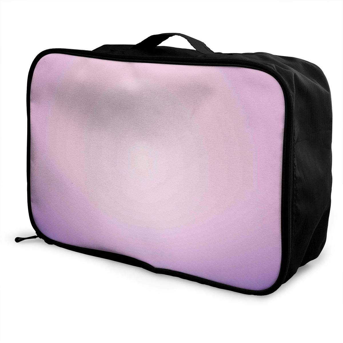 Women /& Men Foldable Travel Duffel Bag Pink And Purple Ombre Print For Luggage Gym Sports