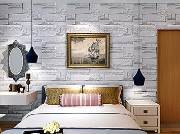 Buy Jaamso Royals Vinyl Brick Stone Peel And Stick Self Adhesive Wallpaper 45 X 1000 Cm Multicolor Self Adhesive Wallpaper 9232 Jrw Online At Low Prices In India Amazon In