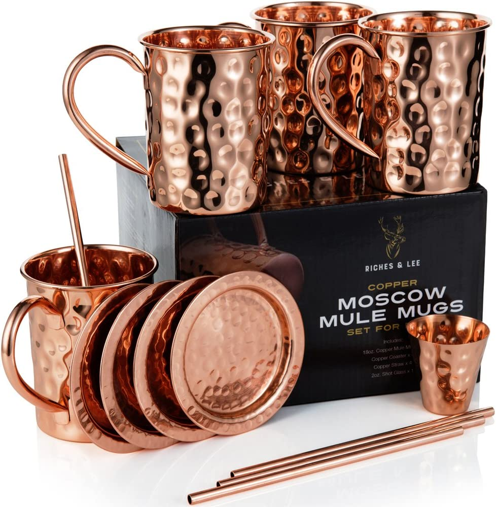 Moscow Mule Set – 4er