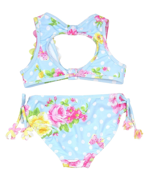 ed0bad1c1 Amazon.com: Kate Mack Girls' Bikini Garden Roses, Sizes 4-10 - 4: Clothing