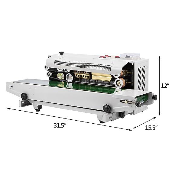 Moracle Sellador con la Función de Imprimir Horizontal