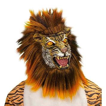 León Máscara Máscara Máscara León Marrón León Tiger Máscara Animales Máscara Carnaval Máscara Máscara