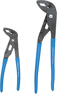 product image for Channellock GLS-2 Griplock 2 Piece 9-1/2-Inch and 6-Inch Tongue and Groove Plier Set