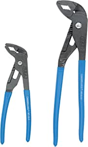 Channellock GLS-2 Griplock 2 Piece 9-1/2-Inch and 6-Inch Tongue and Groove Plier Set