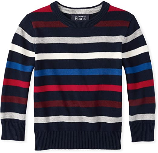The Childrens Place Baby Boys Crew Neck Sweater 3003453