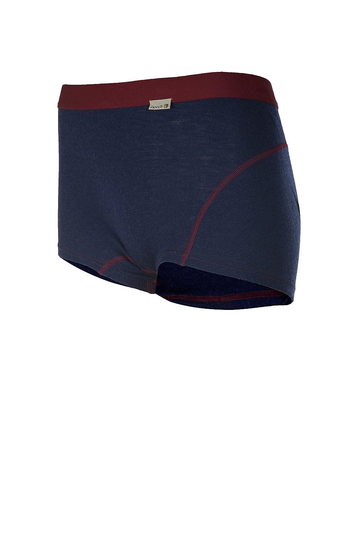 Janus 100/% Merino Wool Womens Boxer Shorts Machine Washable Made in Norway