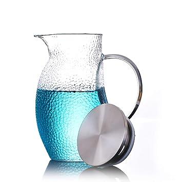 Tetera De Cristal Cold Kettle Botella De Agua Chino Japonés Kungfu Premium Espesar Hogar Alta Capacidad