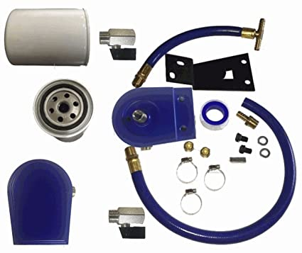 amazon coolant filter egr kit 99 03 ford f 250 f 350 7 3l Turbo 350 Valve Body Diagram coolant filter egr kit 99 03 ford f 250 f 350 7 3l