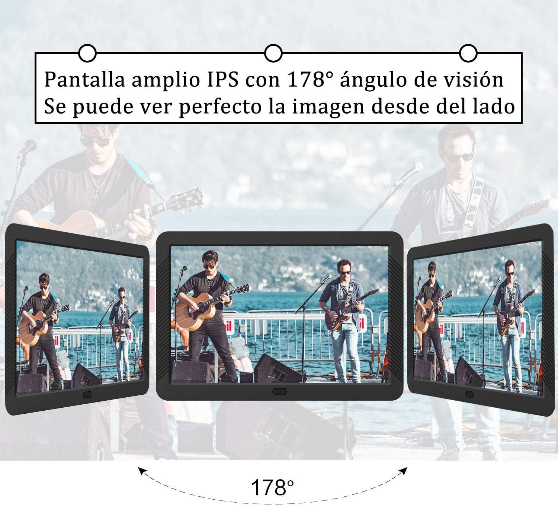 Marco Digital 8 Pulgadas Pantalla LED IPS Full HD Resolución 1920 ...