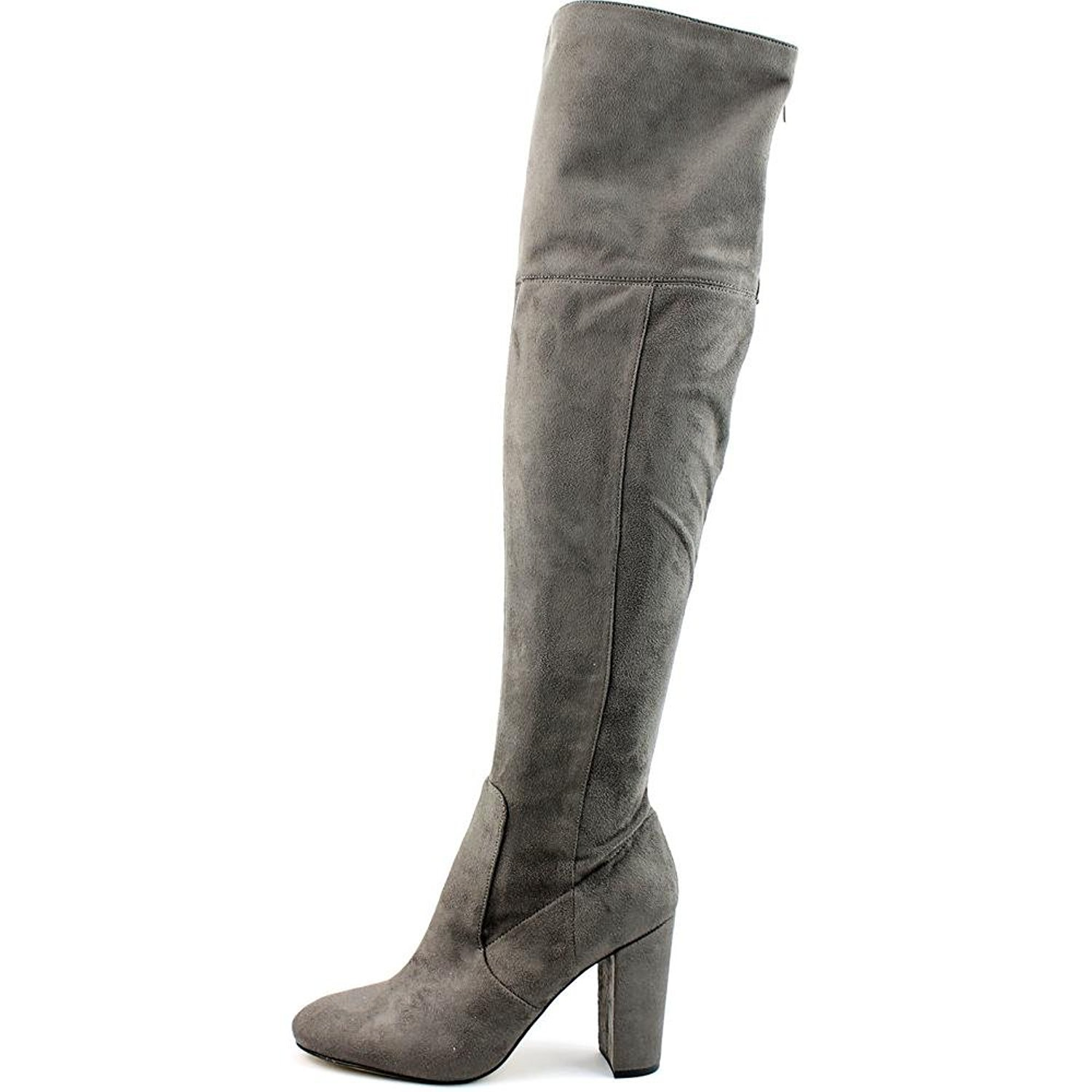 Ivanka Trump Rylee Rear Zip Over The Knee Boots, Dark Gray, 8.5 US by Ivanka Trump (Image #5)