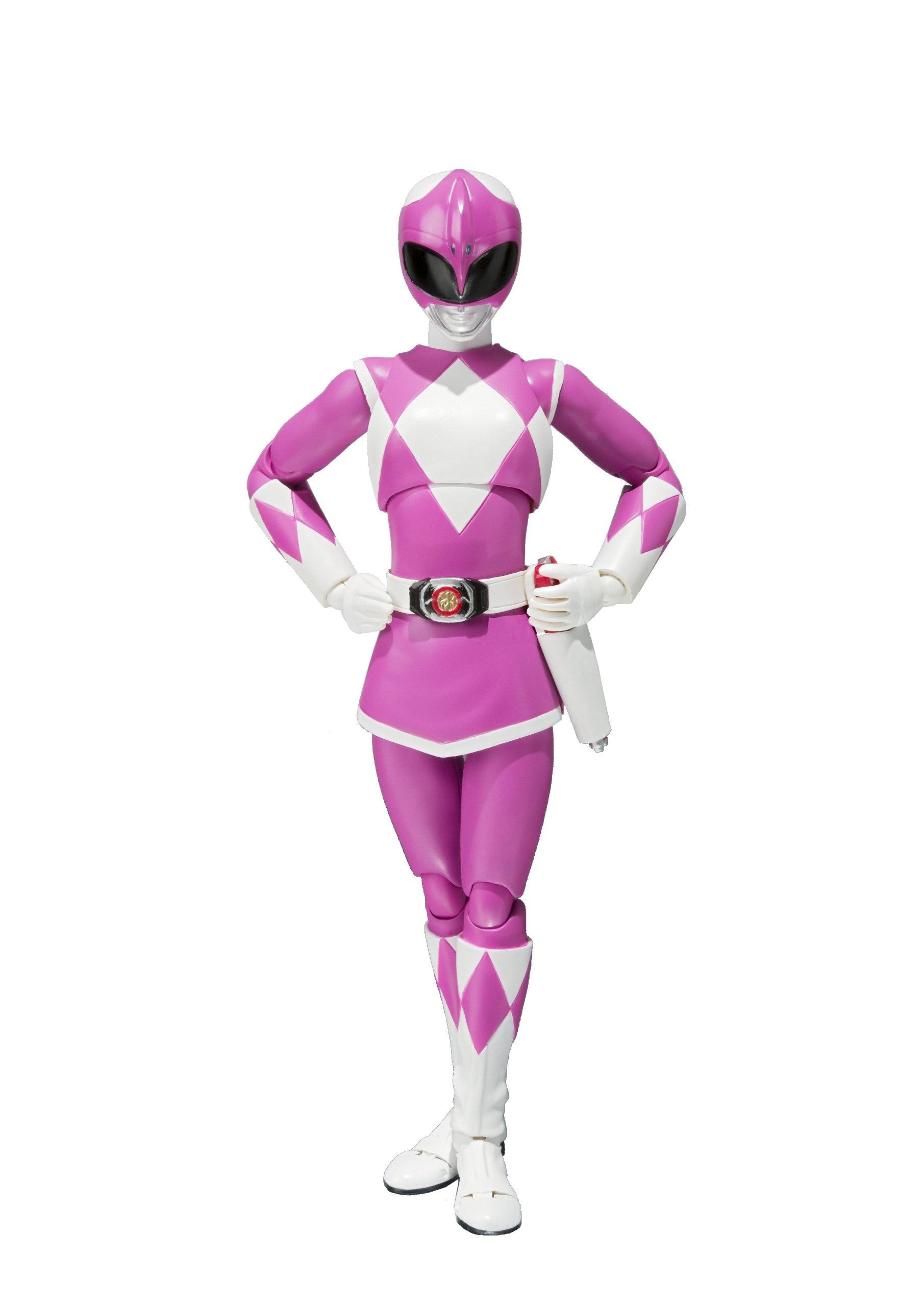Bandai Tamashii Nations S.H. Figuarts ''Mighty Morphin Power Rangers'' Mighty Morphin Pink Ranger Action Figure
