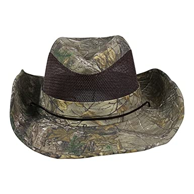 Realtree X-tra Green Mesh Brim Cowboy Hat at Amazon Men s Clothing ... 3f5f82c91a7