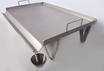 Steel chef Plancha Asar de Acero INOX (500mm)