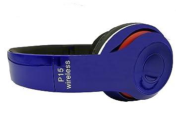 Auriculares Diadema Auriculares Plegables 4.1, Auriculares Inalámbricos Bluetooth con Micrófono, Cascos Bluetooth Audio de