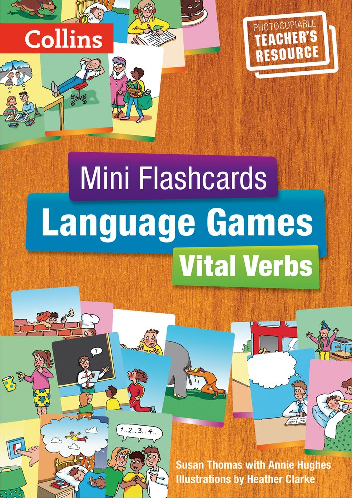 Vital Verbs - Teacher's Book (Mini Flashcards Language Games) by HarperCollins UK
