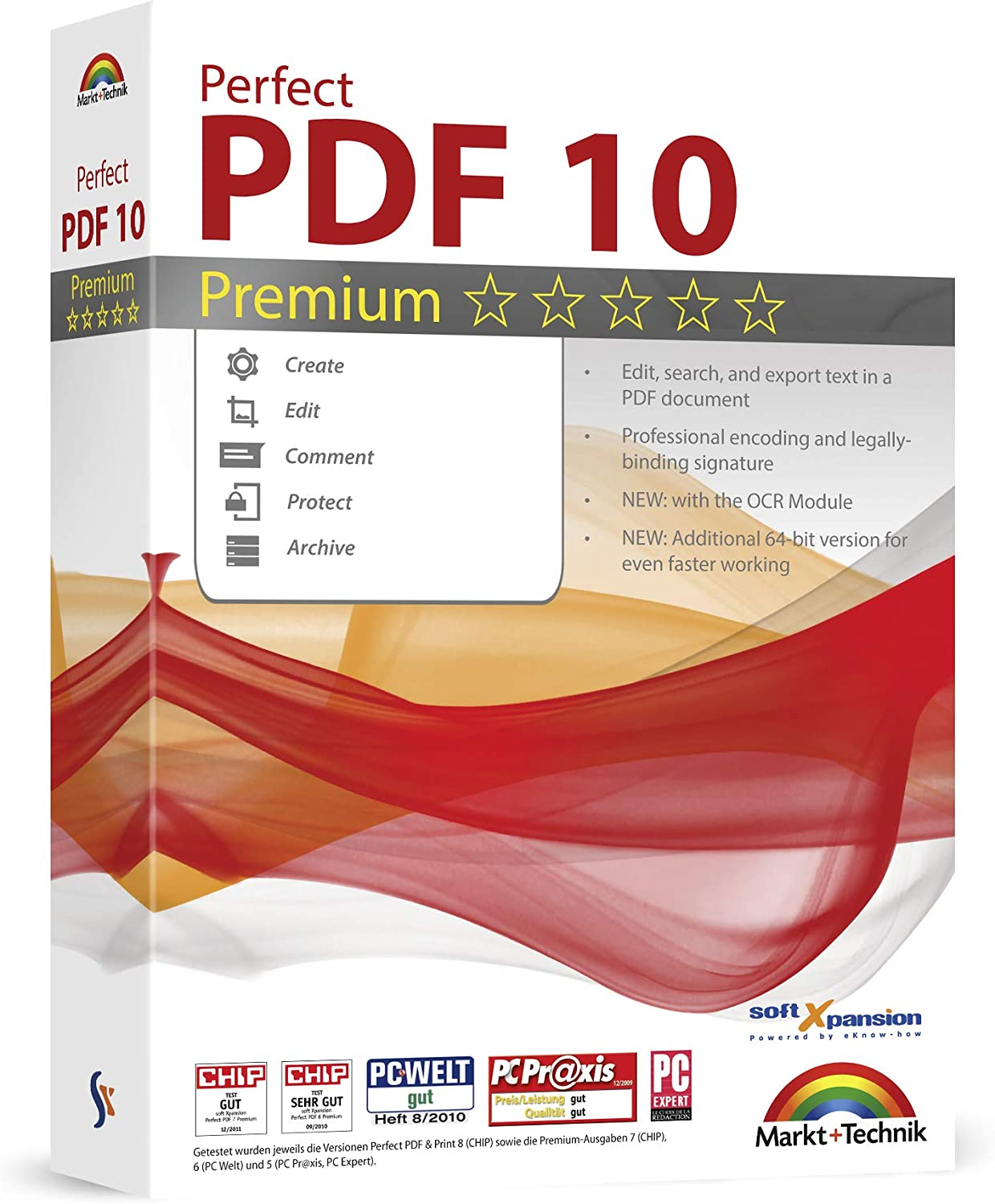 Perfect PDF 10 Premium - Powerful PDF Editing Software - 100% Compatible with Adobe Acrobat - Create, Edit, Convert, Protect, Add Comments, Insert Digital Signatures, OCR Recognition 717n8hVpLBL