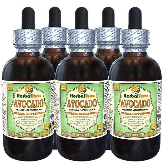 Amazon.com: Avocado (Persea Americana) Tincture, Dried Seed Liquid Extract 2 oz: Health & Personal Care