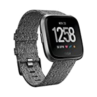 FITBIT Versa Charcoal Woven, Charcoal Woven