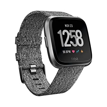 Fitbit Versa Edición Especial - Reloj Deportivo Unisex - Gris / Rosa - Talla S/P + L/G: Fitbit: Amazon.es: Deportes y aire libre
