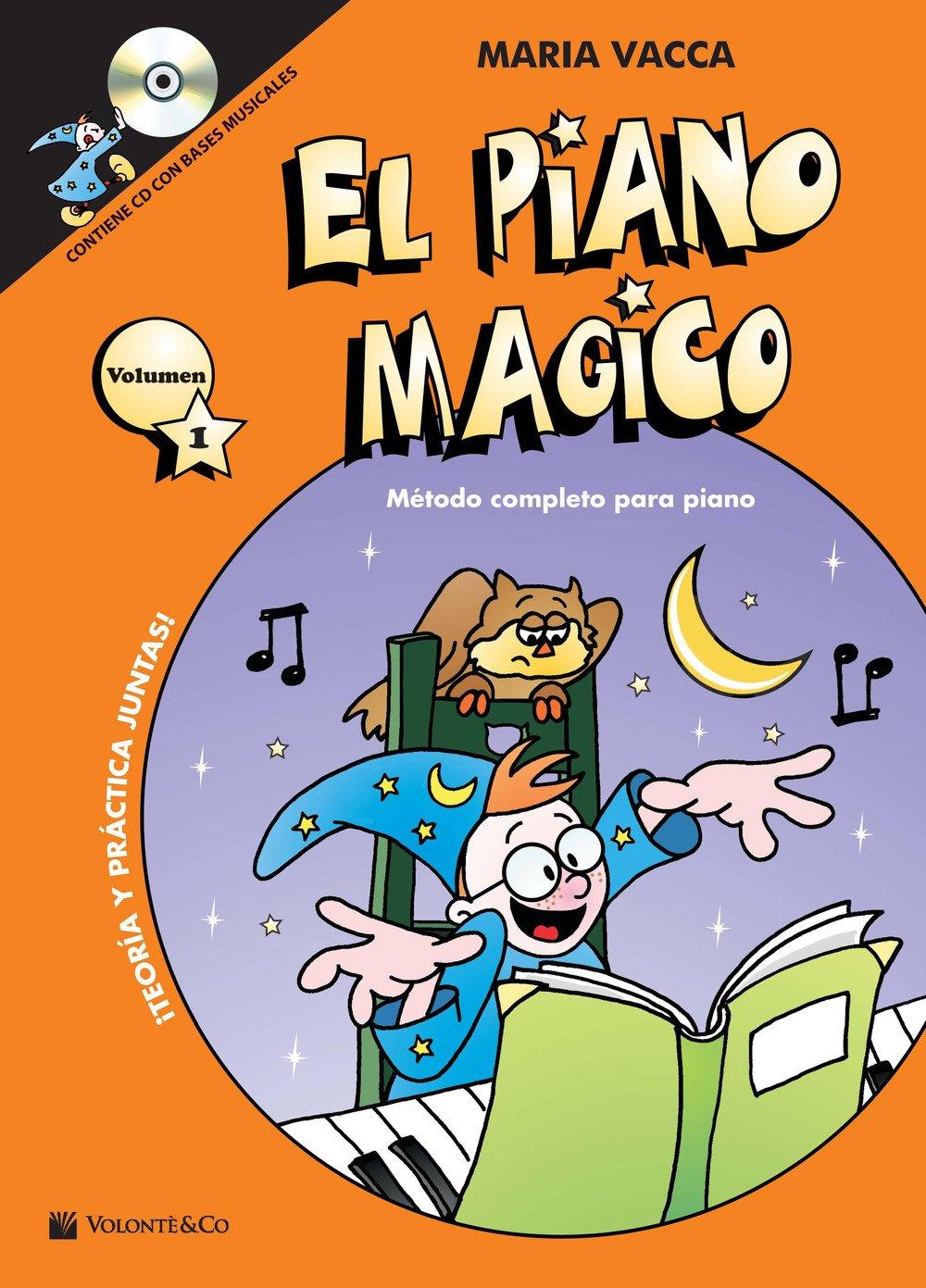 El piano magico. Método completo para piano. Con CD-Audio: 1 Didattica musicali: Amazon.es: Maria Vacca, B. Cerrato: Libros