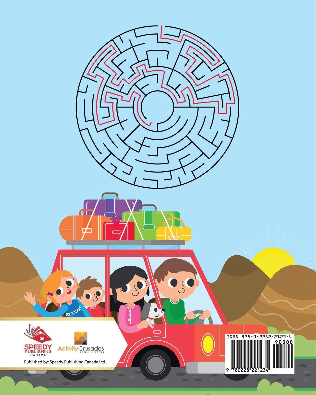 Vacaciones En Familia : Laberintos Para Niños (Spanish Edition) (Spanish) Paperback – October 15, 2017