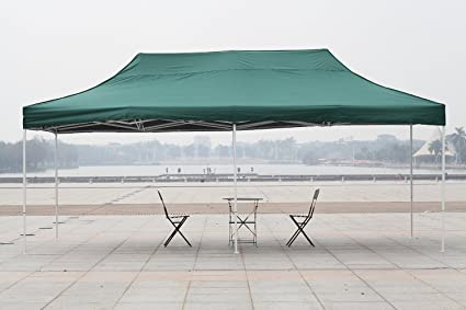 Amazon.com : Patio Commercial Canopy White Steel Frame Heavy Duty ...
