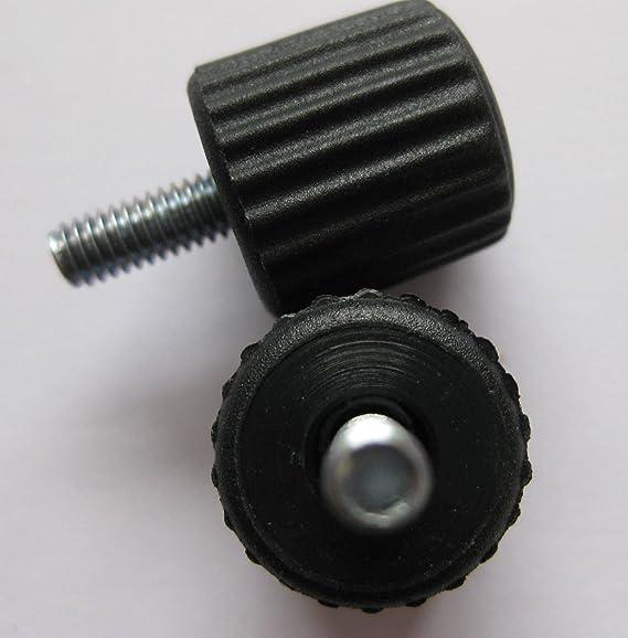 6/X m/âle Vis de serrage M6/x 15/mm Boulon Ecrou papillon Electronics Audio PC d/éclairage pour appareil photo