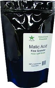 Malic Acid Food Grade 2 to 8 oz. Choose Your Size (4 oz.)
