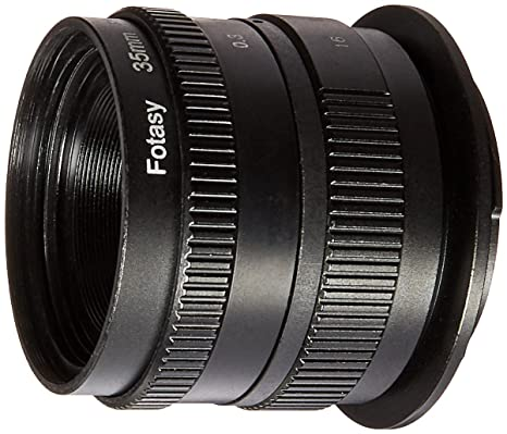 Fotasy N3517 35MM F1.7 TV Movie Lens and Adapter Kit for Sony NEX E-Mount Cameras Camera Lenses at amazon