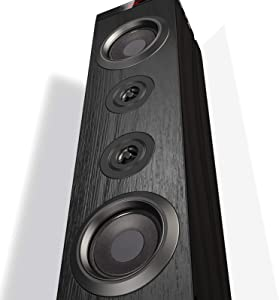 VENLOIC Bluetooth Speaker Tower 150 Watt, Tower Speakers Bluetooth Wireless with Remote, Floor Standing Speaker with Subwoofer, Bluetooth Home Theater System 2.1