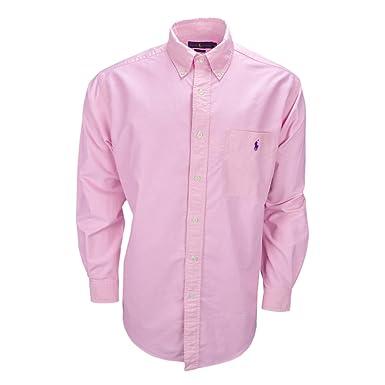Ralph Lauren Chemise Oxford Easy Fit Rose pour Homme  Amazon.fr  Vêtements  et accessoires 9b351b4735a