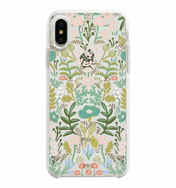 bfca098aa52d Amazon.com  Rifle Paper Co. Protective Case for iPhone X - Clear Tapestry   Cell Phones   Accessories
