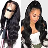 Peruca frontal entrelaçada, perucas encaracoladas longas, cabelo preto e resistente ao calor, peruca sintética frontal entrel