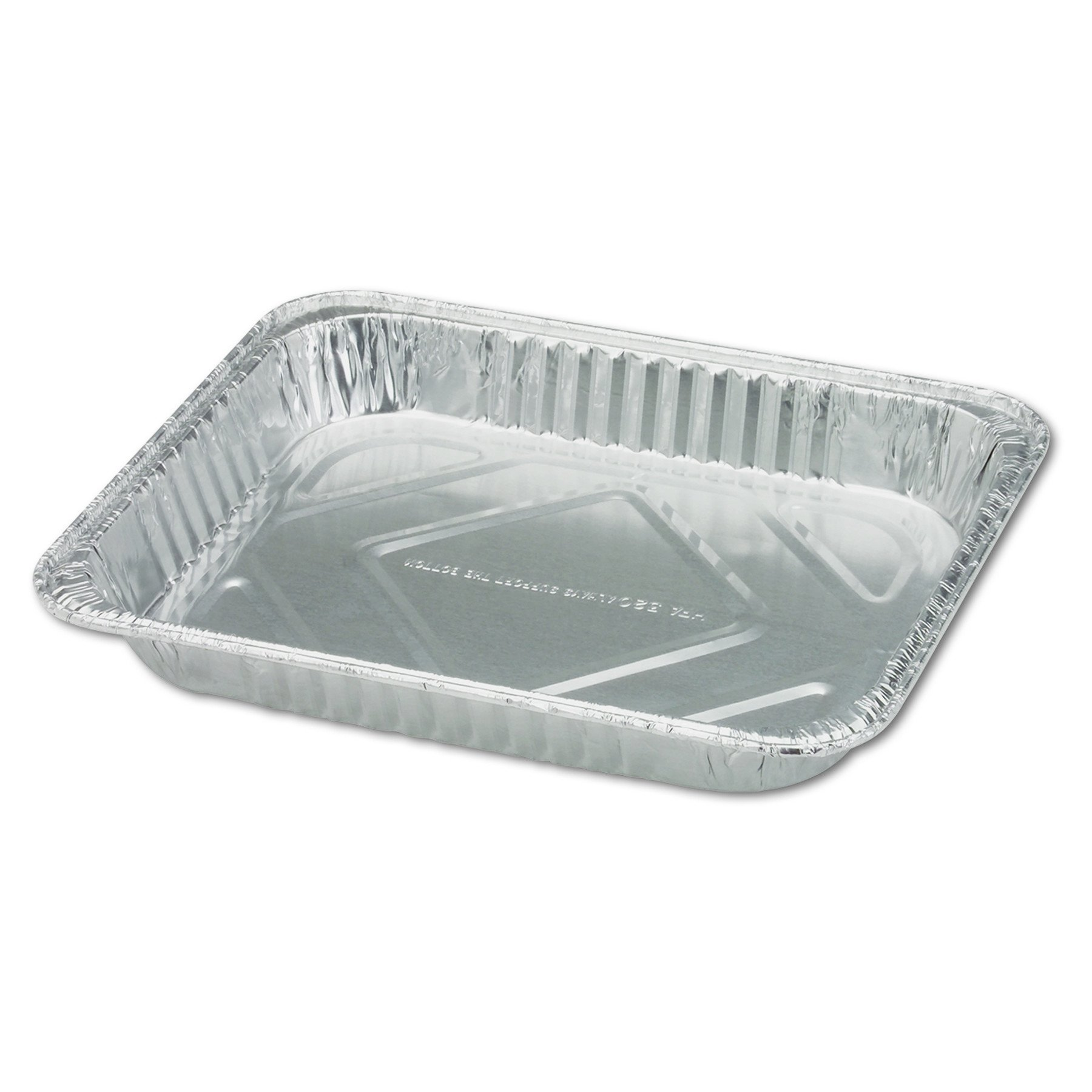 Handi-Foil of America 32035 Steam Table Aluminum Pan, Half-Size, 1 11/16'' Shallow (Case of 100)