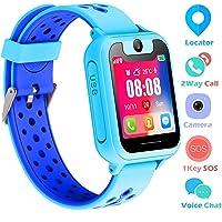 Supoggy Reloj Inteligente Niño LBS Tracker Smartwatch