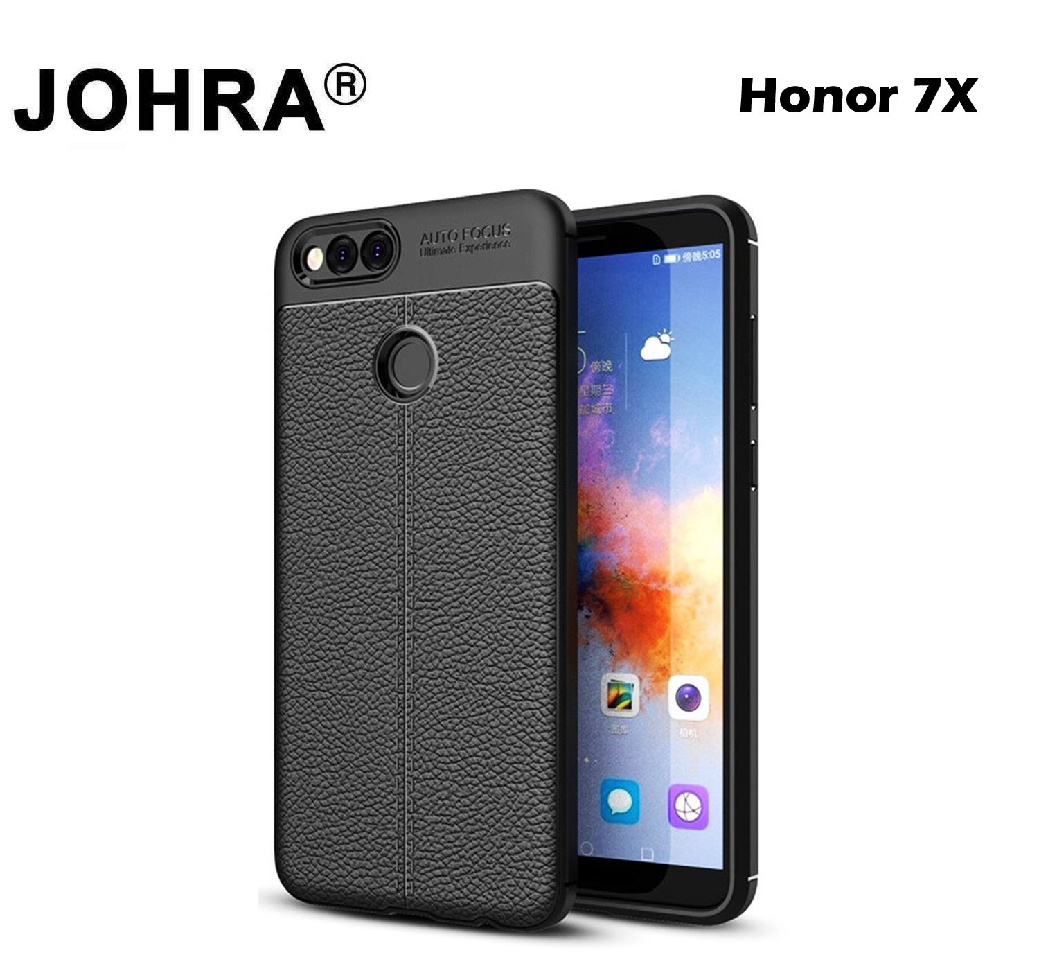 100% authentic 97468 eff68 Honor 7X Back Cover - Johra® Soft Silicone TPU: Amazon.in: Electronics