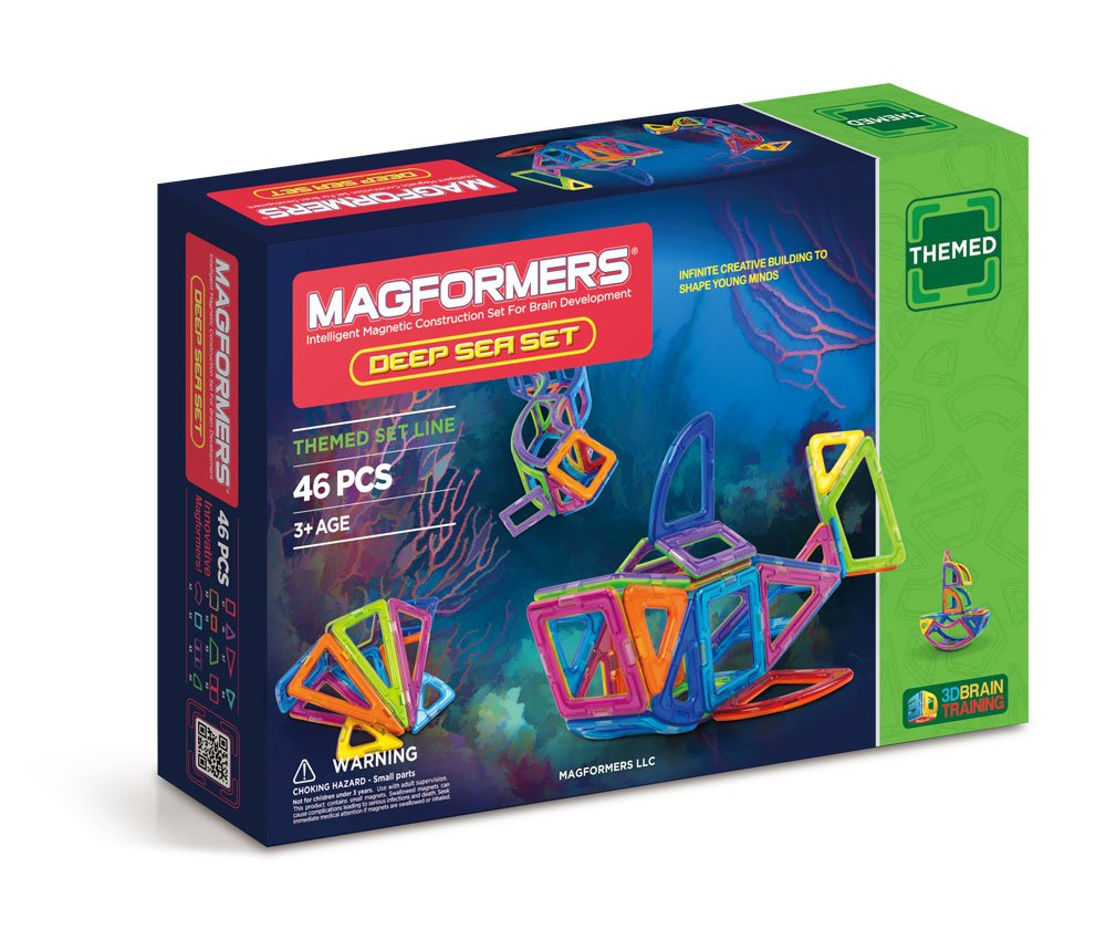 Magformers Deep Sea Set 63099
