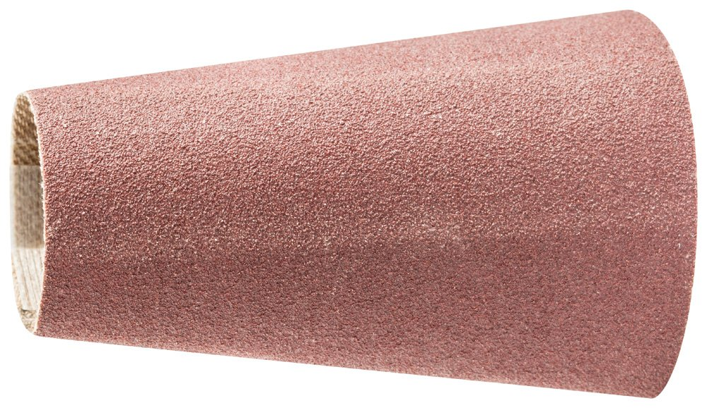 PFERD 41363 Tapered Type Abrasive Spiral Band, Aluminum Oxide A, 1-1/2 to 7/8'' Diameter x 2-3/8'' Length, 150 Grit (Pack of 100) by Pferd (Image #1)
