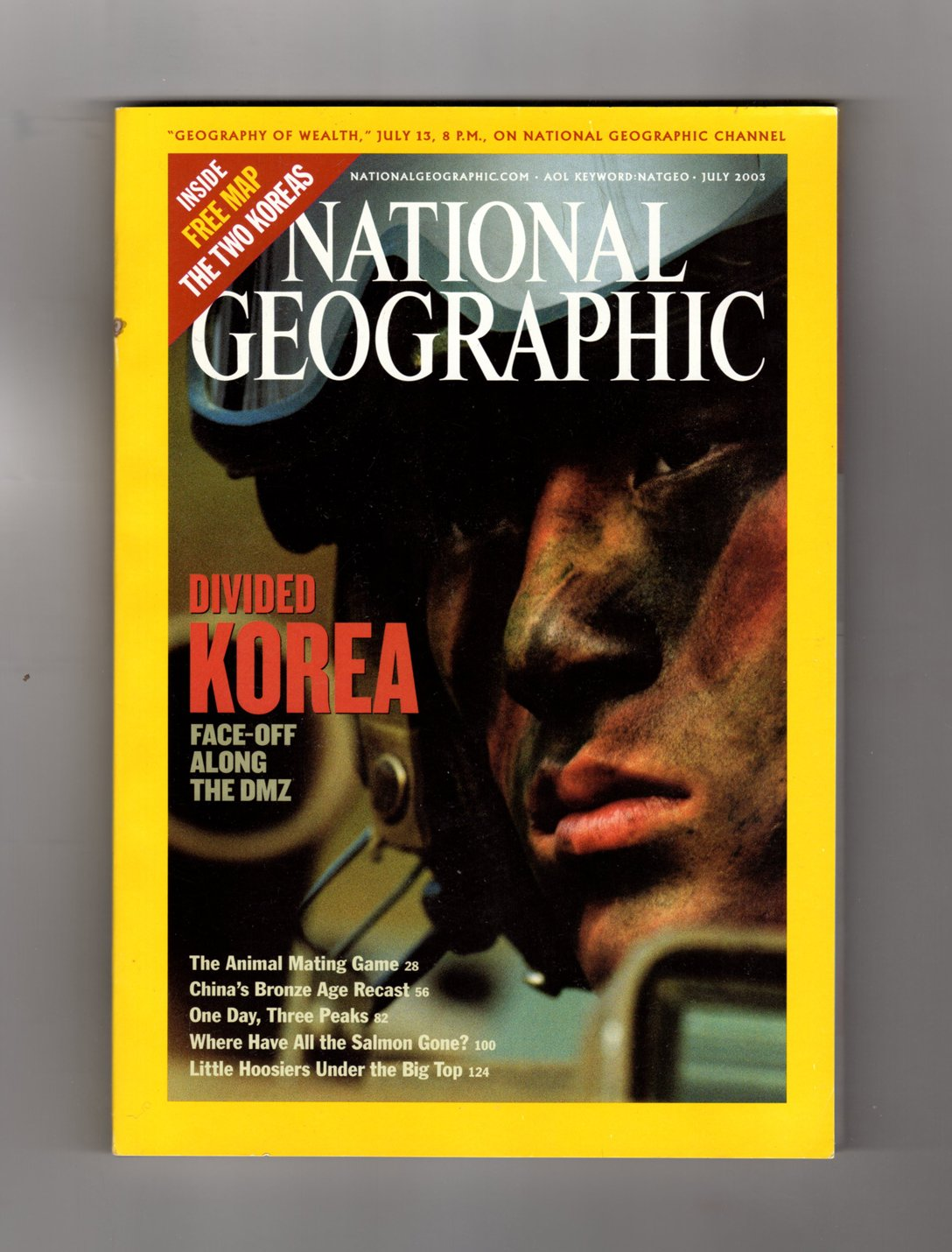 National Geographic 2003年7月Divided韓国のDMZ B0034EEOPG