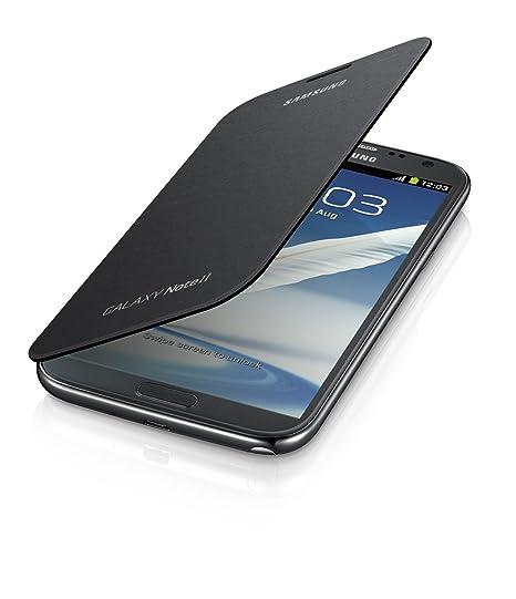 100% authentic 5865d 962ae Samsung Galaxy Note 2 Flip Cover Case (Titanium Gray)